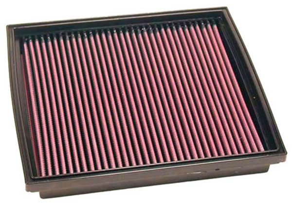 K&N Filter 33-2744 | K&N Air Filter For Range Rover 4.0L-v8 (petrol); 1990-1996