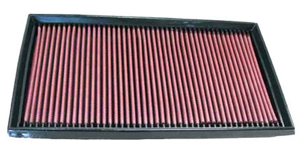 K&N Filter 33-2747: K&N Air Filter For Mercedes Benz E420 1997