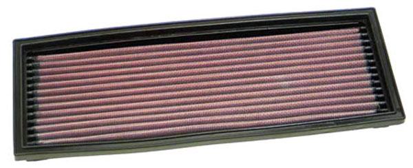 K&N Filter 33-2772 | K&N Air Filter For Peugeot 106 Gti 1.6 1996 O.e#1444-e9 O.e Size 113x306