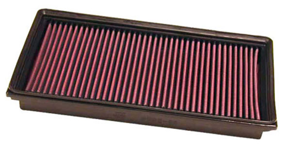 K&N Filter 33-2858 | K&N Air Filter For Saab 9-3 / 2.2l-i4; 2002