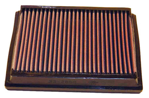 K&N Filter 33-2866 | K&N Replacement Air Filter For Audi RS6 V8 - 2 Required; 2002-2004