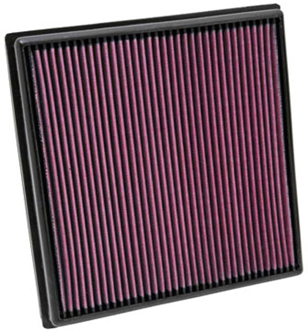 K&N Filter 33-2966: K&N Air Filter For Opel Astra 1.6l Turbo L4; 09-10