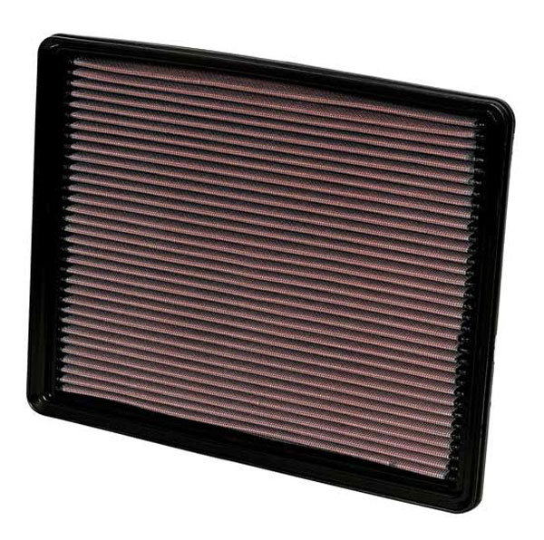 K&N Filter 33-2129 | K&N Air Filter Factory Replacement For Avalanche (All) 5.3L; 1999-2011