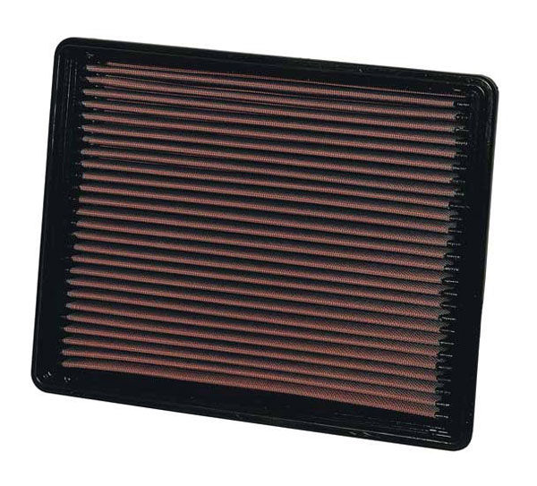 K&N Filter 33-2135 | K&N Air Filter Factory Replacement For Chevy GMC Cadillac Escalade 6.0L 6.2L 6.6L 8.1L; 1999-2012