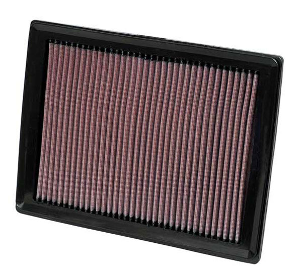 K&N Filter 33-2287 | K&N Air Filter Factory Replacement For Ford class c Motorhome (All) 5.4L; 2004-2008