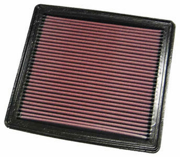 K&N Filter 33-2298 | K&N Performance Air Filter Mustang GT and V6; 2005-2010