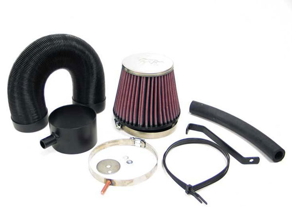 K&N Filter 57-0027-1: K&N Fuel Injection Performance Kit (fipk) For Ford Fiesta Rs Turbo 1.6l 8v Cvh L4 Mpi 131bhp