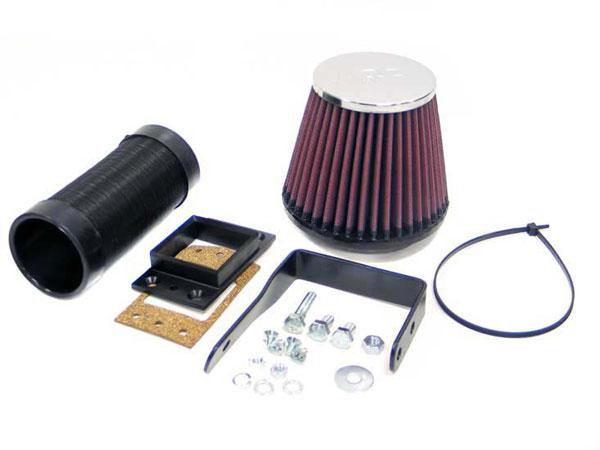 K&N Filter 57-0127 | K&N Fuel Injection Performance Kit (fipk) For Bmw 318i Square Intake; 1982-1994