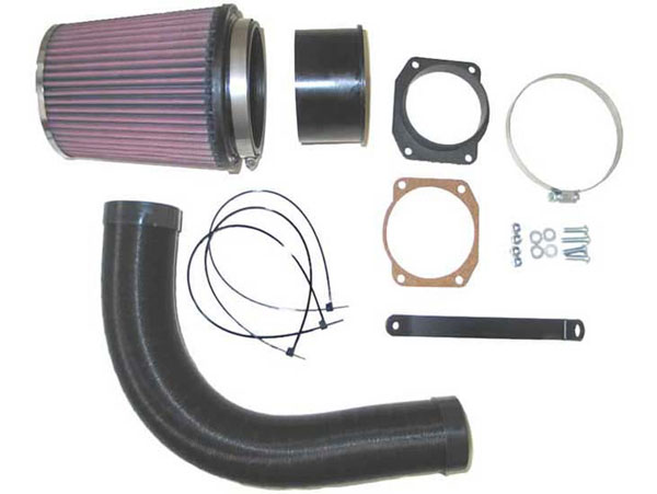 K&N Filter 57-0555 | K&N Fuel Injection Performance Kit (fipk) For Audi A3 1.8l 20v L4 125bhp (hitachi Mas); 1996-1997
