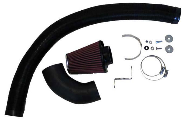 K&N Filter 57-0557 | K&N Fuel Injection Performance Kit (fipk) For Ford Fiesta; 1.4l Tdci L4 Ohc 67bhp