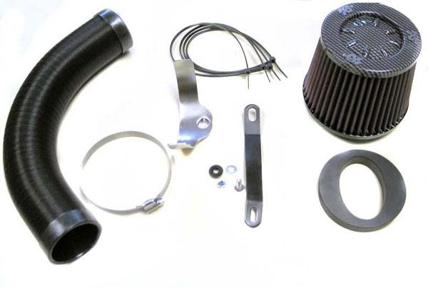 K&N Filter 57-0635 | K&N Fuel Injection Performance Kit (fipk) For Ford Focus Ii; 1.6l Tdci 108bhp; 2004-2007