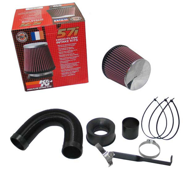 K&N Filter 57-0663: K&N Fuel Injection Performance Kit (fipk) For Vauxhall Corsa 1.4i 16v 89bhp 2006