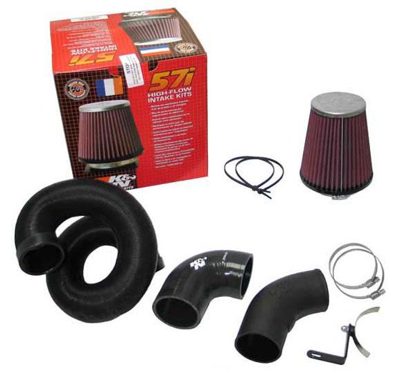 K&N Filter 57-0665 | K&N Fuel Injection Performance Kit (fipk) For Mini One 1.4l 16v 95bhp; 2007