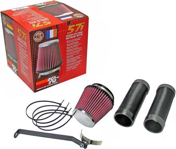 K&N Filter 57-0680 | K&N Fuel Injection Performance Kit (fipk) For Bmw 118d / 120d 2.0d 143 / 177bhp; 2007-2011