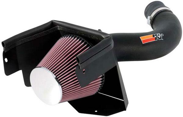 K&N Filter 57-1553 | K&N Fuel Injection Performance Kit (fipk) For Jeep Wrangler V6 - 3.8L; 2007-2007