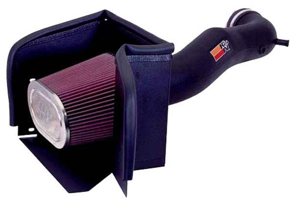 K&N Filter 57-1533 | K&N Fuel Injection Performance Kit For Dodge Pick Up Full Size (1/2 Ton) 5.7L HEMI; 2003-2007