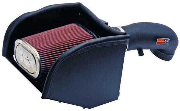 K&N Filter 57-3013-2 | K&N Fuel Injection Performance Kit For Chevy Suburban C/K1500 Tahoe GMC C/K Yukon Denali 5.0L / 5.7L; 1996-2002