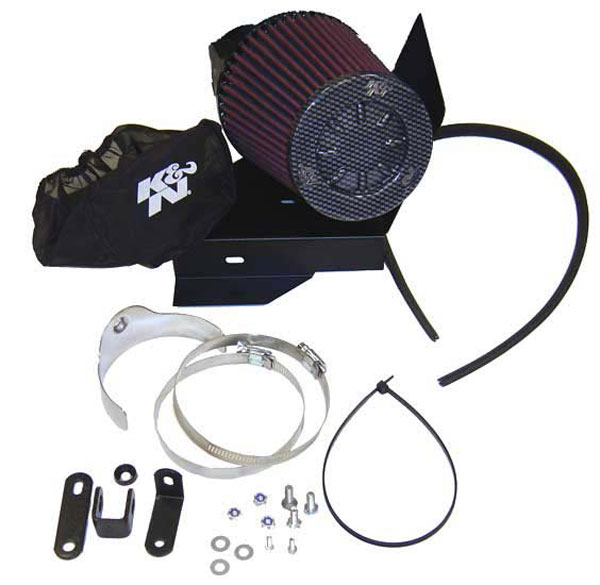 K&N Filter 57-I250-2 | K&N 57i Intake Kit For Ford Focus Rs 2.0l 16v Turbo L4 F / i Dohc 213bhp; 2002-2004