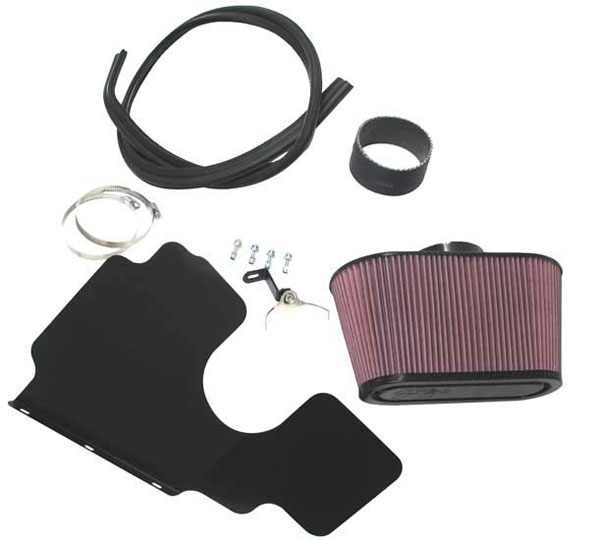K&N Filter 57-I750-5 | K&N 57i Intake Kit For Land Rover Discovery 3 2.7d V6 190bhp