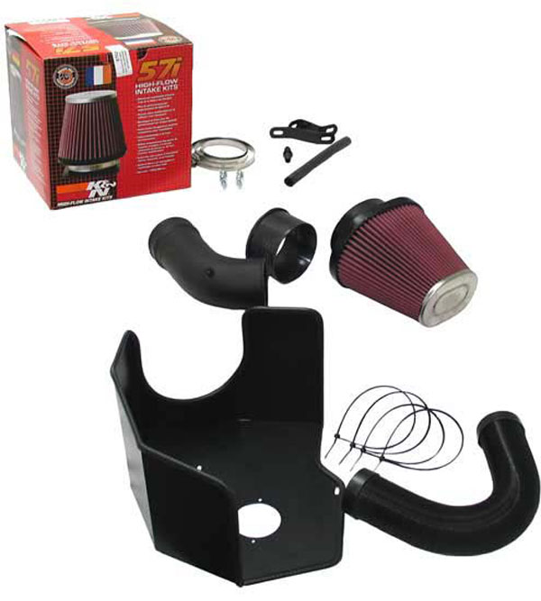 K&N Filter 57-I950-0 | K&N 57i Intake Kit For Audi A3 Quattro 3.2l 24v V6 236bhp VW EOS / GOLF; 2003-2009