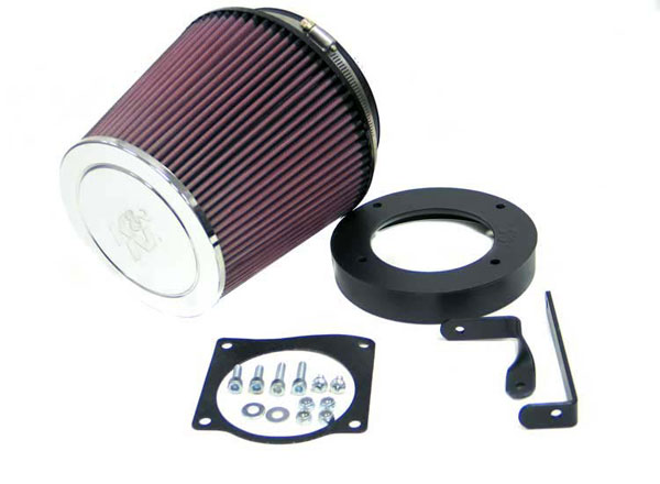 K&N Filter 63-1008: K&N Aircharger Kit For Ford Mustang 96-02 V8