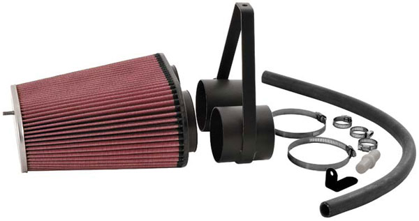 K&N Filter 63-1014 | K&N Aircharger Kit For Ford Bronco and F-Series; 1996-1997