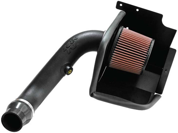 K&N Filter 63-1560: K&N Aircharger Kit For Dodge Caliber Srt4 2.4l 2008