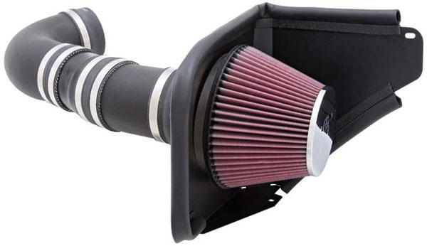 K&N Filter 63-3071 | K&N Aircharger Kit For Pontiac G8 6.0L V8; 2008-2009