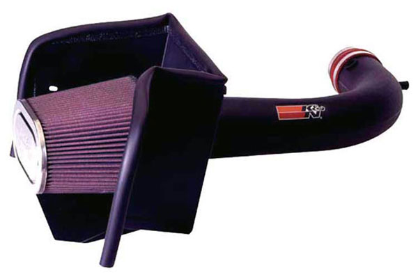 K&N Filter 63-1529 | K&N Series Aircharger Intake Kit For Dodge Pick Up Full Size 4.7L; 2008-2011