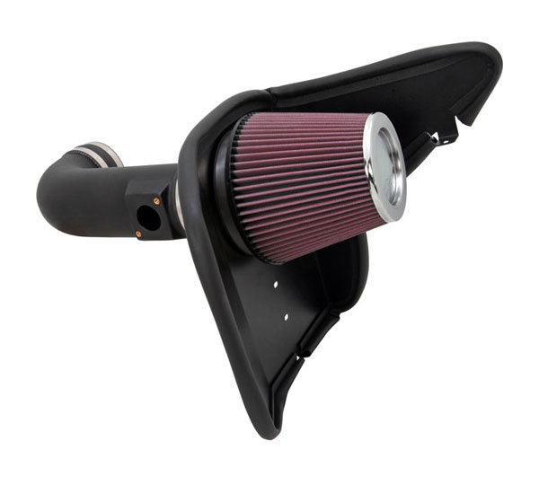 K&N Filter 63-3074: K&N Camaro 2010 V8 Series AirCharger Intake Kit