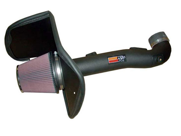 K&N Filter 63-9027 | K&N Series Aircharger Intake Kit For Toyota Sequoia 4.7L; 2005-2007