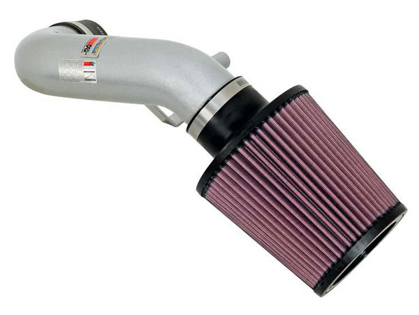 K&N Filter 690015TS | K&N Typhoon Air Intake System For Acura Rsx; Silver; 2002-2006