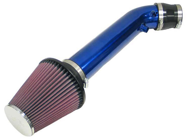 K&N Filter 691005TB: K&N Typhoon Air Intake System For Honda Civic Si 99 (blue)