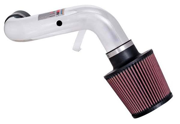 K&N Filter 69-1009TP: K&N Typhoon Air Intake System For Honda Civic Si 2002; Polished