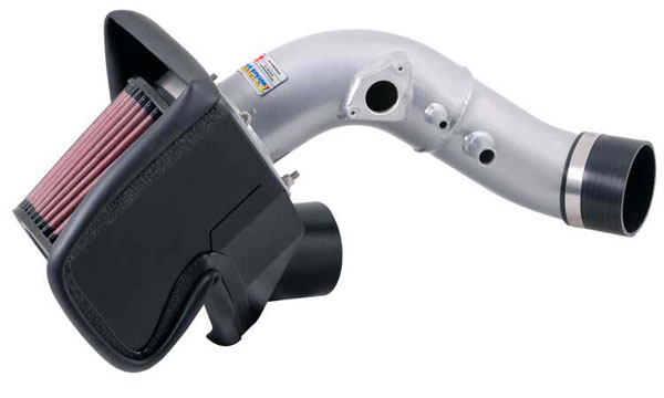 K&N Filter 691014TS: K&N Typhoon Air Intake System For Honda Civic Si L4-2.0l; 06-09