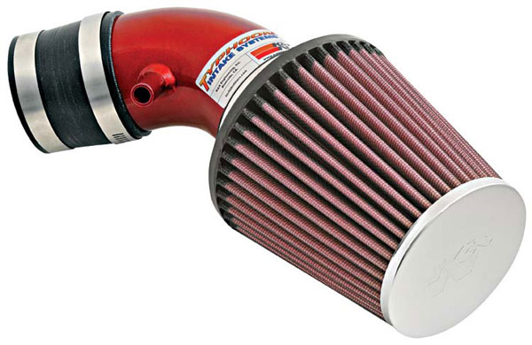 K&N Filter 692020TR: K&N Typhoon Air Intake System For Mini Cooper L4-1.6l (sr) 02; Red