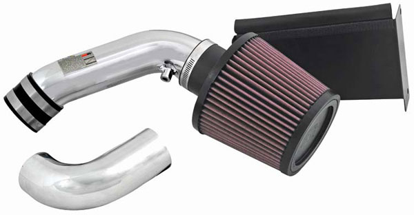 K&N Filter (69-2021TP) K&N Typhoon Air Intake System For Mini Cooper S L4-1.6l (sr) 02; Polished