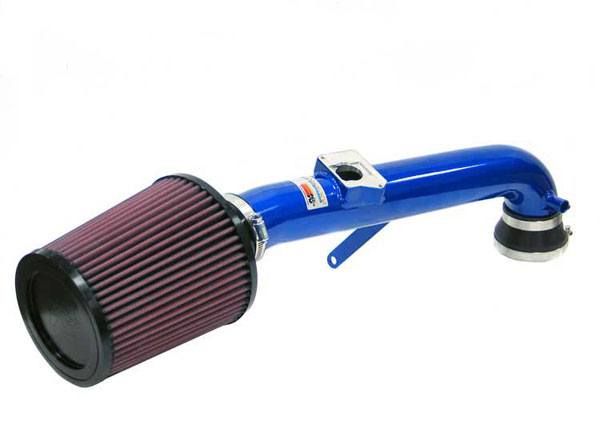 K&N Filter 693510TB: K&N Typhoon Air Intake System For Ford Focus (sr) 00-03; Blue