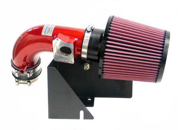 K&N Filter 693511TR | K&N Typhoon Air Intake System For Ford Focus Svt 02-03; Red