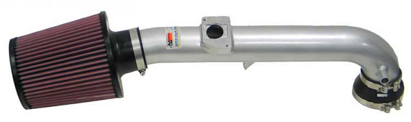 K&N Filter 694000TS | K&N Typhoon Air Intake System For (eu) ford Focus L4-2.0L Silver; 1998-2004