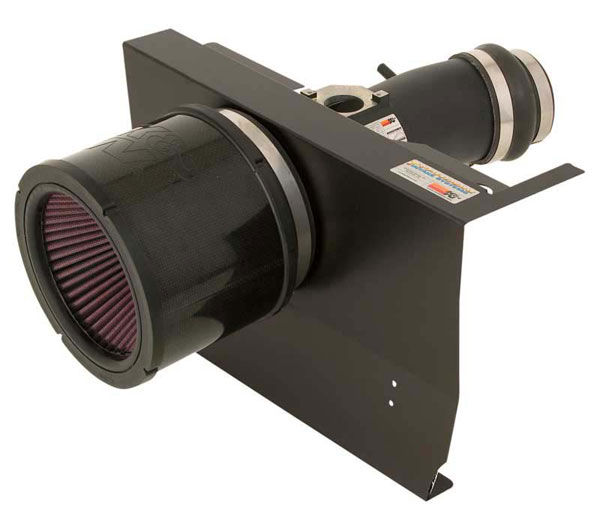 K&N Filter 6960301TFK | K&N Typhoon Air Intake System For Mazda Rx-8 1.3L (flat Black); 2003-2011