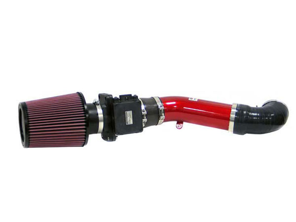 K&N Filter 696506TR | K&N Typhoon Air Intake System For Mitsubishi Eclipse I4-2.4l 00-03; Red