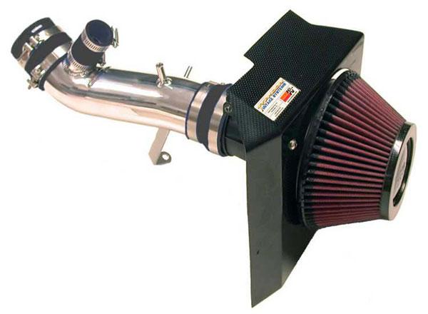 K&N Filter 69-6543TP   K&N Typhoon Air Intake System For Mitsu Lancer Evo Viii I4-2.0l 2003; Polished