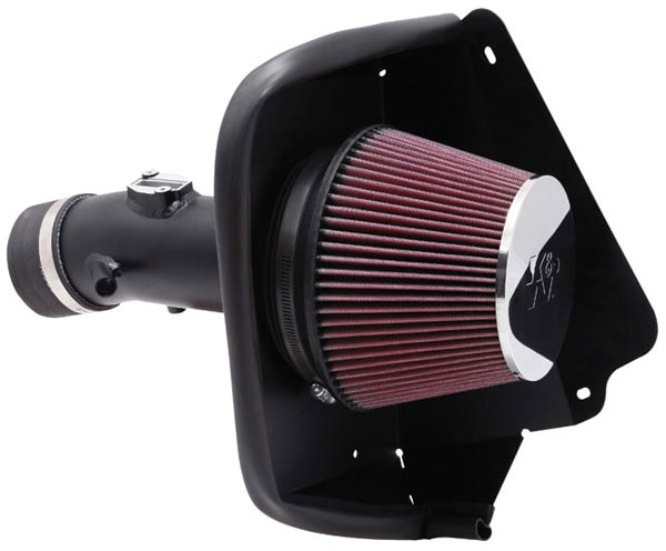 K&N Filter 697002TTK: K&N Typhoon Air Intake System For Nissan Maxima 3.5l V6 09-10