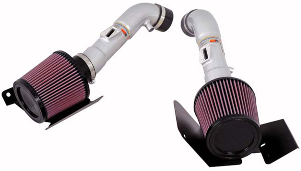 K&N Filter 697071TS: K&N Typhoon Air Intake System For Nissan 350z V6-3.5l 2007 (silver)