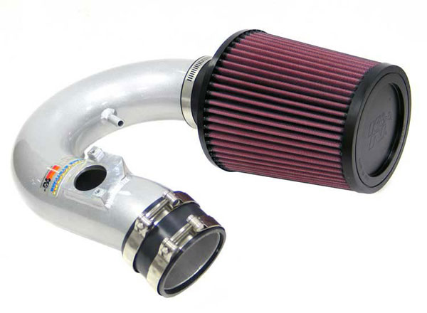 K&N Filter 698520TS: K&N Typhoon Air Intake System For Toyota Celica Gt (sr) 00-02; Silver