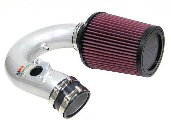 K&N Filter 698520TS | K&N Typhoon Air Intake System For Toyota Celica Gt (sr); Silver; 2000-2004