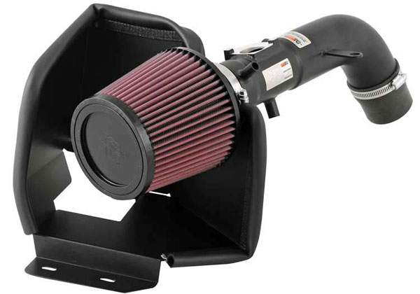 K&N Filter 698609TTK: K&N Typhoon Air Intake System For Toyota Camry L4-2.4; 2002-2006