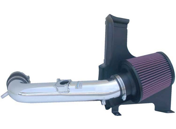 K&N Filter 69-8700TP | K&N Typhoon Air Intake System For Lexus Is300 L6-3.0L; Polished; 2001-2005