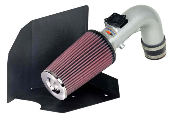 K&N Filter 698753TS | K&N Typhoon Air Intake System For (eu) toyota Rav4 L4-2.0L Silver; 2000-2005